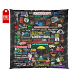 How I Met Your Mother Comforter Home Decor TVShowGifts 88x88