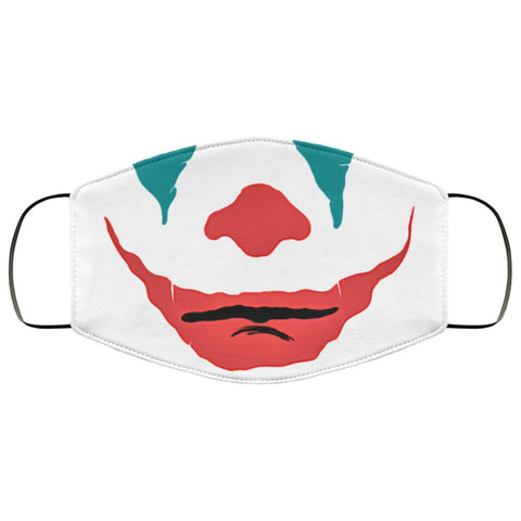 Joker Makeup Face Mask Accessories TVShowGifts White One Size