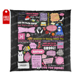Mean Girls Comforter Home Decor TVShowGifts 88x88