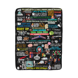 Seinfeld Blanket Home Decor TVShowGifts 50''x60''