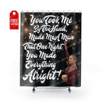 "That One Night Shower Curtain Home Decor TVShowGifts 71"" x 74"""