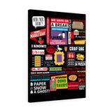 The Friends Canvas Art Canvas TVShowGifts 18″ × 24″ Premium Gallery Wraps (1.25″)