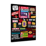 The Friends Canvas Art Canvas TVShowGifts 24″ × 30″ Premium Gallery Wraps (1.25″)