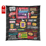 The Friends Comforter Home Decor TVShowGifts 88x88