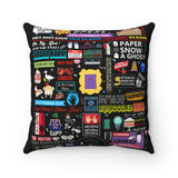 The Friends Pillow Home Decor TVShowGifts 20x20