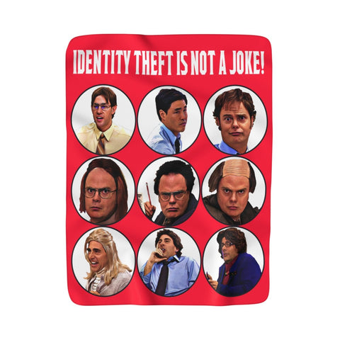 The Office Blanket - Identity Theft Home Decor TVShowGifts 50''x60''