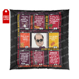 The Office Comforter - Kevin Home Decor TVShowGifts 88x88