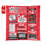 The Office Comforter - Red Home Decor TVShowGifts 88x88