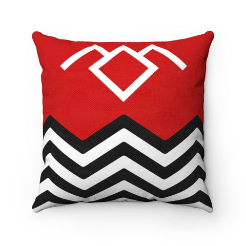 The Twin Peaks Pillow Home Decor TVShowGifts 20x20