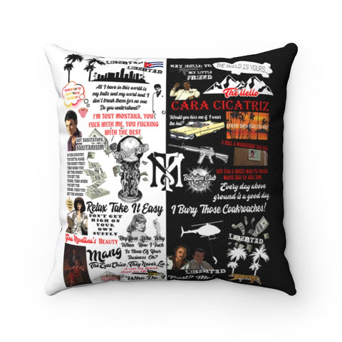 Tony Montana Pillow Home Decor TVShowGifts 20x20