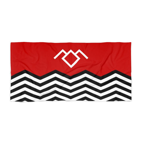 Twin Peaks Beach Towel Home Decor TVShowGifts 36x72