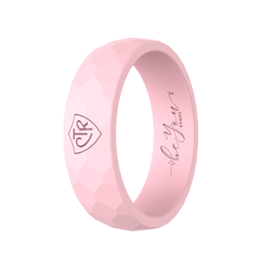 """Blush"" Women's Silicone CTR Ring"