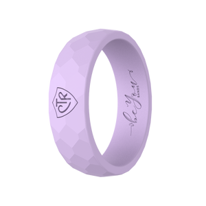 """Lavender"" Women's Silicone CTR Ring"