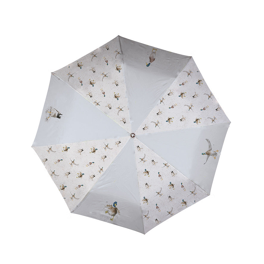 'Nice Weather For Ducks' Umbrella
