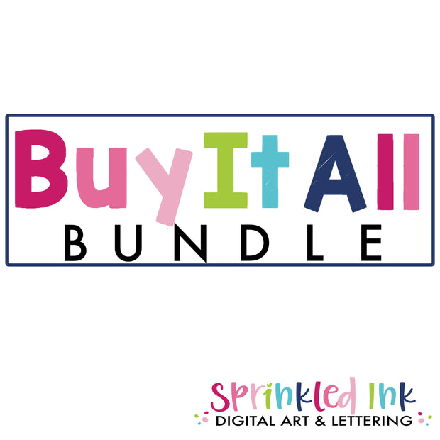$1 Wednesday August, 12 Buy It All Bundle