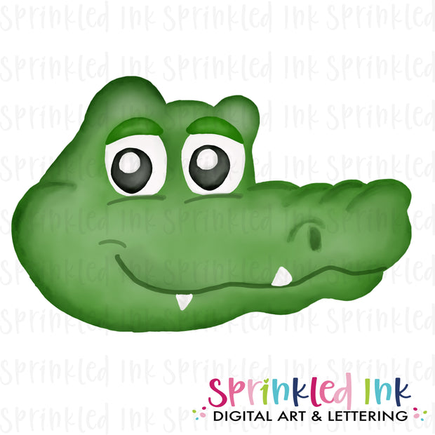 Watercolor PNG |MASCOT| Gator Boy Download File