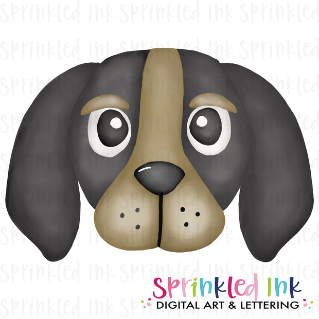 Watercolor PNG |MASCOT| Smokey Hound Boy Download File