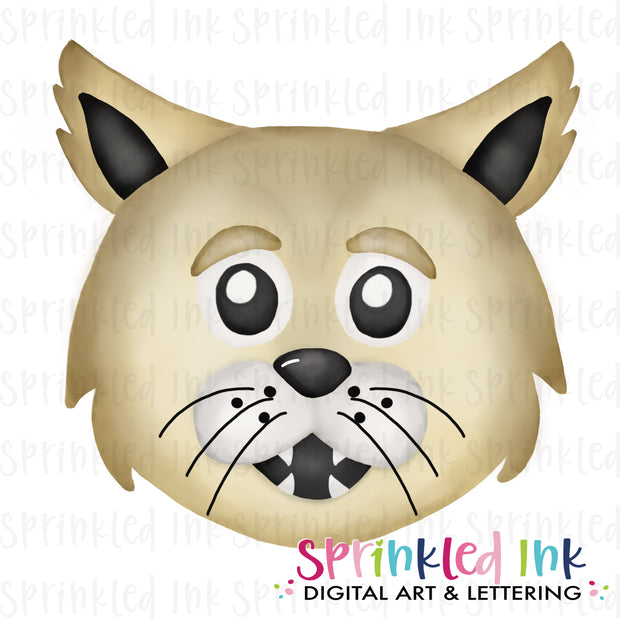 Watercolor PNG |MASCOT| Wildcat Boy Download File