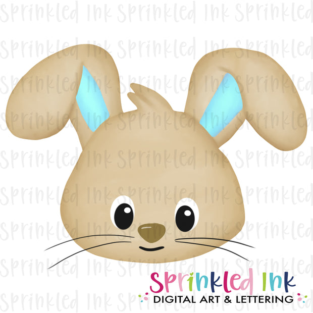 Watercolor PNG Easter Bunny Boy Background Download File - Sprinkled Ink Digital Designs