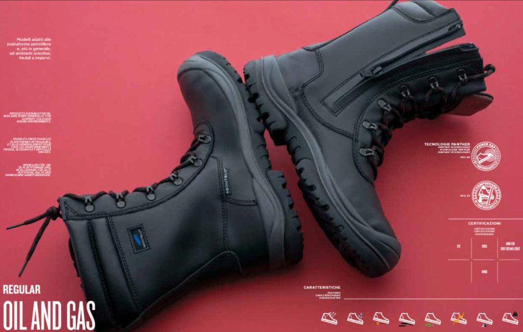 Heavy Duty Oil and Gas Safety Shoes