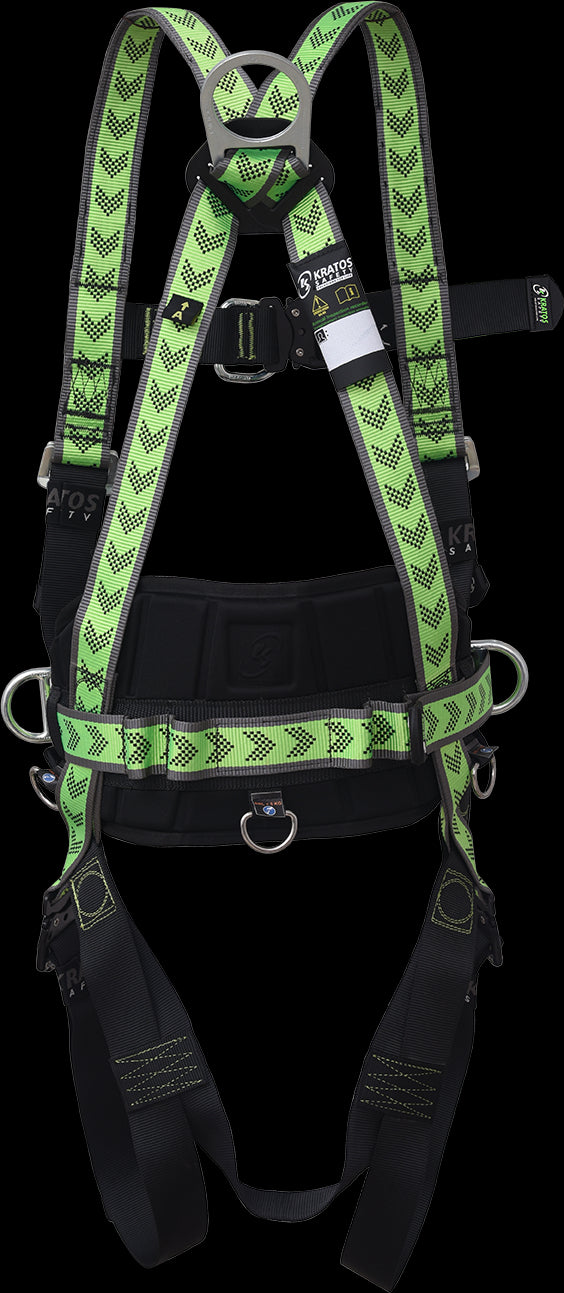 FA1020500A - KRATOS Safety Body harness 2 attachment points with belt and automatic buckles