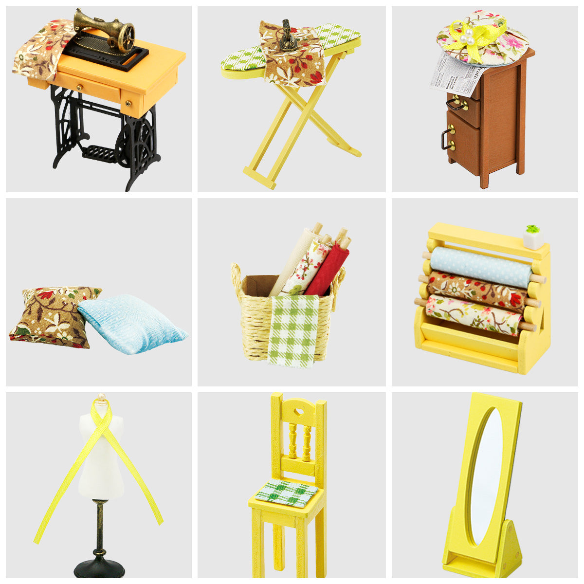 tailor dollhouse accessories