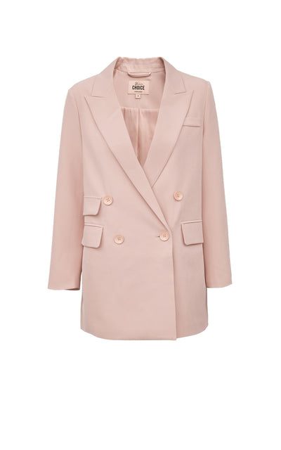 Vero Moda New Style Women's H-Shaped Lapel Double-Breasted Suit Jacket by FavStuffs - FavStuffs