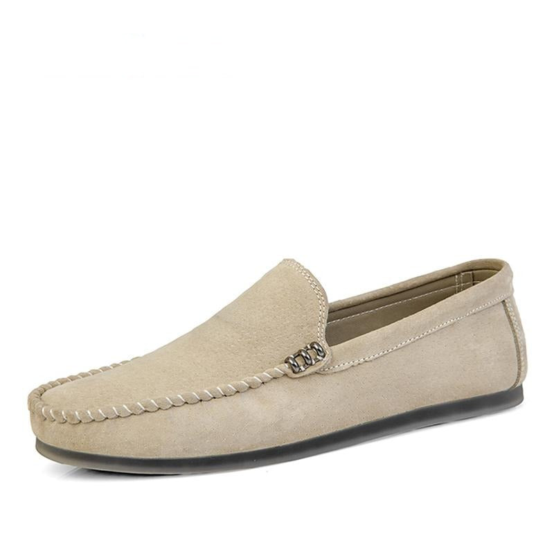 New Men's Suede Leather Loafer / Moccasins Slip-On Shoes by FavStuffs - FavStuffs