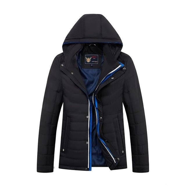FavStuffs Wolf New Thin Cotton Hooded Men's Spring Jacket - FavStuffs