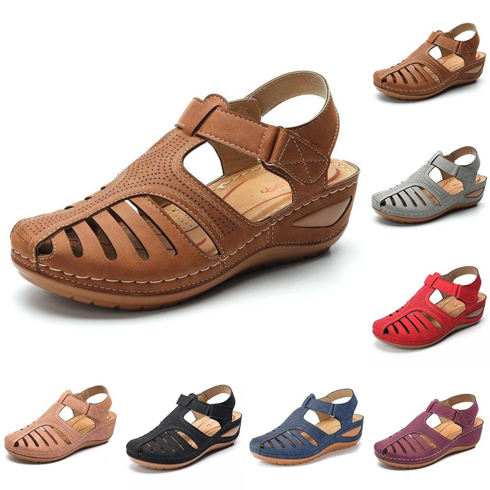 Beautiful Casual Summer Wear Women's/Girls Retro Leather Sandal by FavStuffs - FavStuffs