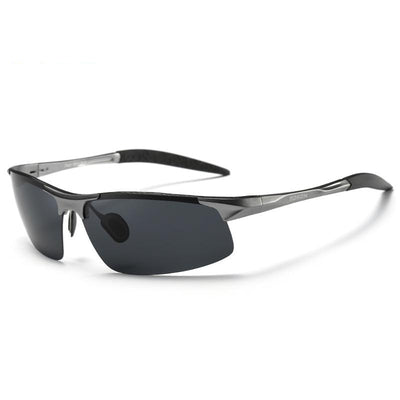 FavStuffs Driving Polaroid Aluminum Frame Sports Retro UV400 Anti-Glare Goggles/Sunglasses for Men - FavStuffs