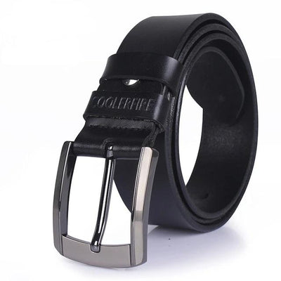 Men's High Quality Genuine Leather Luxury Designer Strap Belt by FavStuffs - FavStuffs