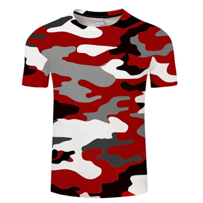 Newest 3D Printed Ink Drawn Pattern Short Sleeve Summer Casual T-Shirts for Men's by FavStuffs - FavStuffs