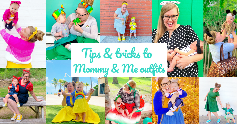 Tips and Tricks to Mommy & Me outfits
