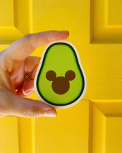 Load image into Gallery viewer, Mickey Avocado sticker