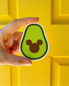 Mickey Avocado sticker