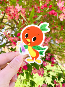 Orange Bird Violet Lemonade  sticker