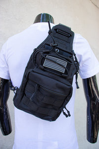 Camouflage camp back pack