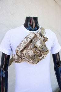 Camouflage chest bag
