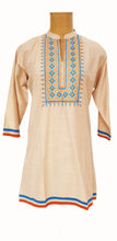 Load image into Gallery viewer, Beige Printed Kurti