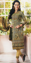 Load image into Gallery viewer, Green Printed Kameez