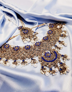 Royal Blue & Pearl Set