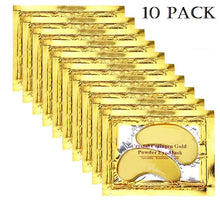 Load image into Gallery viewer, 24K Collagen Gold Eye Mask - 10 pack