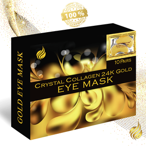 24K Collagen Gold Eye Mask - 10 pack