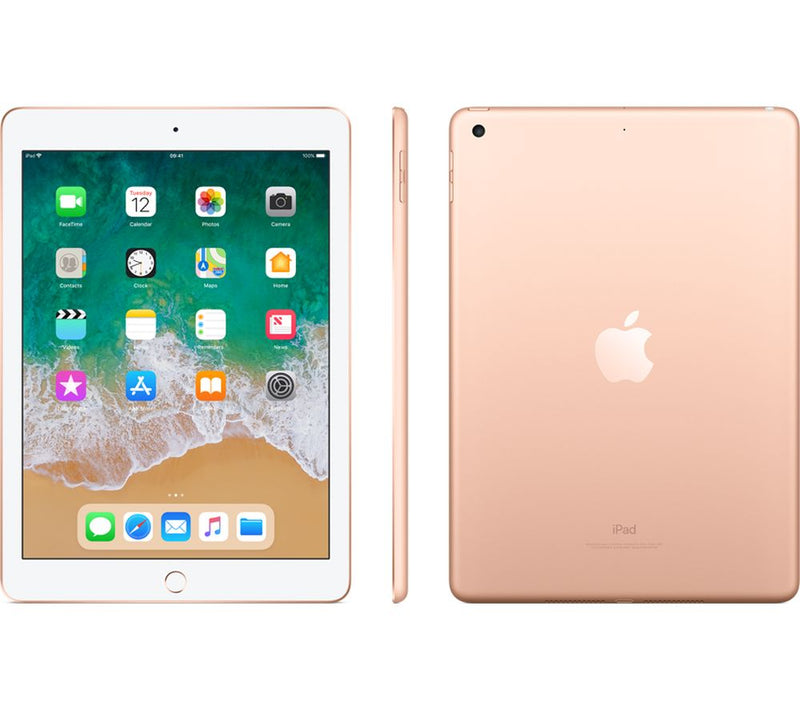 Apple iPad (6th Gen, 2018) 128GB Gold (WiFi + Cellular)
