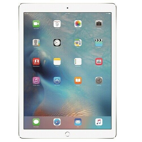 "Apple iPad Pro 12.9"" (1st Gen, 2015) 256GB Silver (WiFi + Cellular)"