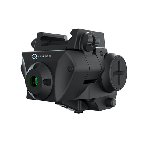 iProtec Q-SERIES SC-G Rail-Mounted Firearm Sightable Green Laser