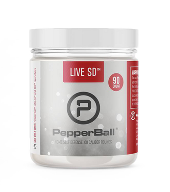 PepperBall Live SD 90 Count Projectile Refill for Lifelite, TCP, VKS Launcher