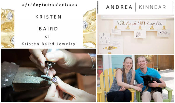 Andrea Kinnear and Kristen Baird Jewelry, Charleston and Savannah Jewelry Designer