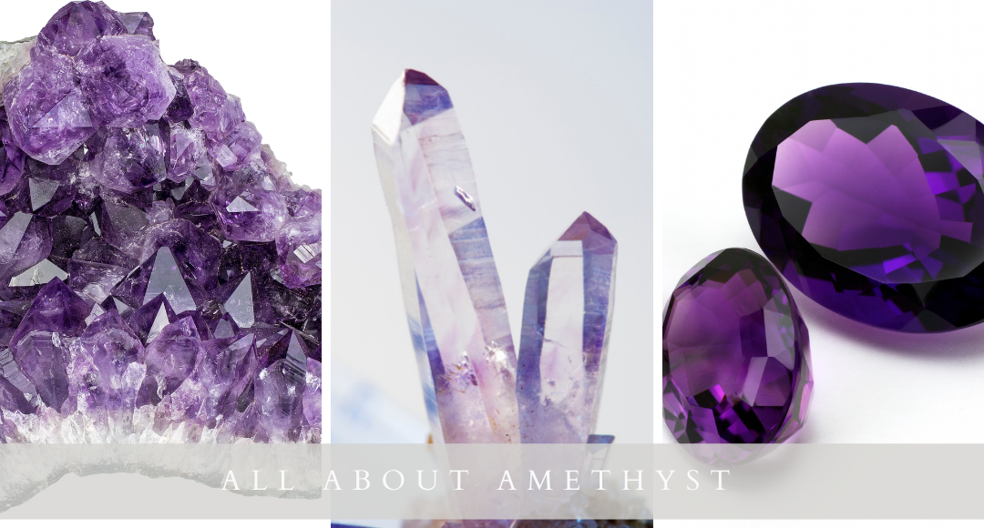 All About Amethyst Gemstones by Kristen Baird